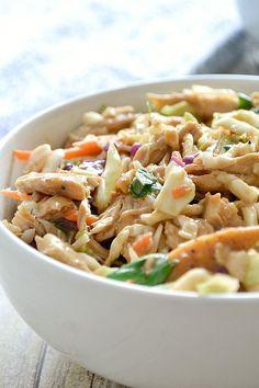 Crunchy Thai Chicken Salad!!
