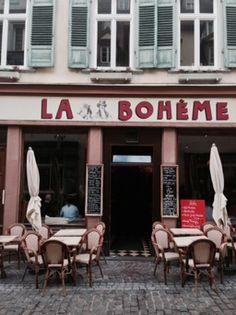 Cafe in Heidelberg.