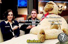 Biochem    Elizabeth Henstridge, Iain De Caestecker    AOS Characters in 10 Seconds    245px x 160px     #animated #cast #promo