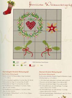 Gallery.ru / Фото #10 - 12 - Viki-Kitti Cross Stitch Christmas Ornaments, Xmas Cross Stitch, Just Cross Stitch, Noel Christmas, Cross Stitch Charts, Cross Stitching, Cross Stitch Embroidery, Cross Stitch Patterns, Theme Noel