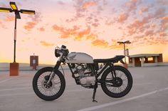 Honda CB125s Cafe Racer by Jesse Sotelo #motorbikes