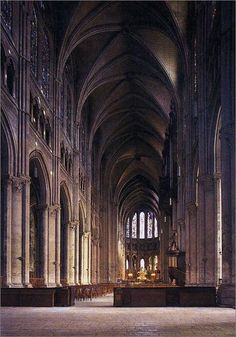 gothic cathedral illustration chartre france - Google Search