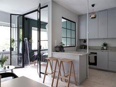 Modern home decor bedroom – Southern Home Decor Interior Design Kitchen, Modern Interior Design, Interior Decorating, Decorating Ideas, Decor Ideas, Small Apartments, Small Spaces, Studio Apartments, Deco Studio