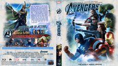 The Avengers (2012) Blu-ray Custom Cover