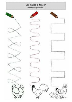 hen trace worksheet  |   Crafts and Worksheets for Preschool,Toddler and Kindergarten
