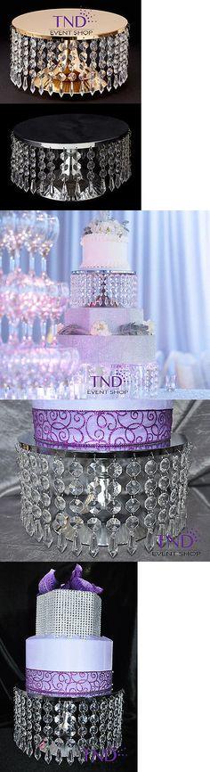 Wedding Cake Stands And Plates 102424 Round Chandelier Gold Silver Stand Riser Pedestal Holder