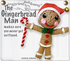 I just love these string voodoo dolls!! Must have this one for my gingy tree!