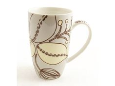 Jardin Mug This mug has an enchanting leaf design in neutral colours, perfect for any kitchen.#neutral #pretty