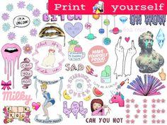 How To Draw Kawaii Hipster boy - Doodles by Garbi KW Printable Sticker Paper, Vinyl Sticker Paper, Sticker Shop, How To Make Logo, How To Make Tea, Hipster Doodles, Tumblr Stickers, Erin Condren Life Planner, Design Elements