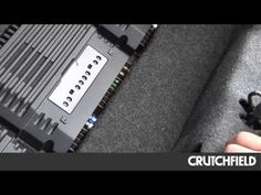 Sony GS Car Amplifiers Overview | Crutchfield Video - YouTube #Sony #CarAudio #CarAmp