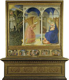 Explore artworks and writings by Italian artist Fra Angelico, and meet other artists of Italian Renaissance Fra Angelico, Tarot, Saint Esprit, Classic Paintings, Italian Artist, Bible Stories, Renaissance Art, Western Art, Virgin Mary