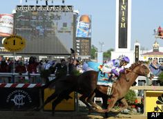 Ill Have Another Preakness: I'll Have Another (9) beats Bodemeister to the finish line at Pimlico Race Course, Saturday, May 19, 2012.