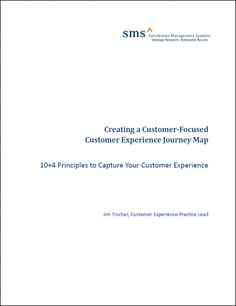 Creating a Customer Experience Journey Map whitepaper