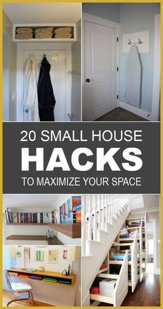 Small House Hacks To Maximize Your Space tips and tricks for small houses that will help you to use every inch of space to the max.tips and tricks for small houses that will help you to use every inch of space to the max. Small House Living, Small Space Living, Decor For Small Spaces, Ikea Small Spaces, Couches For Small Spaces, Simple Living, Living Rooms, Muebles Shabby Chic, Small Space Storage