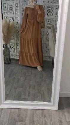 Niqab Fashion, Modern Hijab Fashion, Muslim Fashion, Look Fashion, Fashion Outfits, Islamic Fashion, Abaya Style, Hijab Style Dress, Hijab Outfit
