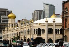 Grey street Mosque in Durban South Africa