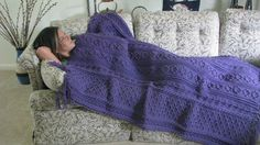 Hey, I found this really awesome Etsy listing at https://www.etsy.com/listing/202348217/medium-purple-fishermans-knit-aran-style