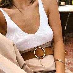Ideas For Moda Primavera Casual Chic Spring Summer Mode Outfits, Fashion Outfits, Womens Fashion, Fashion Tips, Fashion Trends, Fashion Ideas, Looks Style, My Style, Beige Outfit