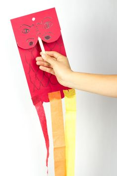 Awesome Chinese New Year Dragon Kite Puppet
