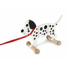 Tidlo Wooden Wiggly Dog Toy