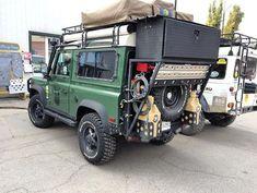 land rover camper - Page 28 Landrover Defender, Defender Camper, Defender 90, Land Rover Camping, Camping Car, Jeep Pickup, Jeep 4x4, Nissan Patrol, Vw T5