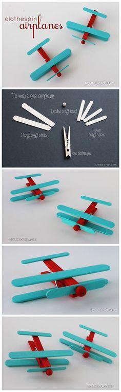 DIY Easy Airplanes | DIY & Crafts Tutorials                                                                                                                                                      More