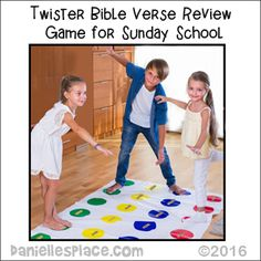 Bible Games For Sunday School using children's toys such as grabbers and Twister Sunday School Rooms, Sunday School Activities, Sunday School Lessons, School Staff, Bible Games, Bible Activities, Children's Bible, Bible Lessons For Kids, Bible For Kids