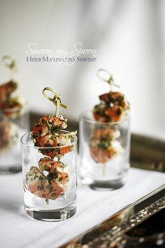 Herb Marinated Shrimps