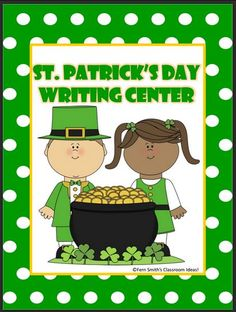 FREE St. Patrick's Day Writing Center For You!
