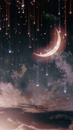 iphone wallpaper moon phone wall paper moon Folgen Sie mir als Mldrd Rjs. Iphone Wallpaper Moon, Moon And Stars Wallpaper, Night Sky Wallpaper, Star Wallpaper, Iphone Background Wallpaper, Galaxy Wallpaper, Nature Wallpaper, Stars And Moon, Wallpaper Ideas