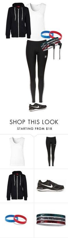 """Sporty Girl"" by ravenwolf123 ❤ liked on Polyvore featuring ESCADA, Topshop, NIKE and B&O Play"