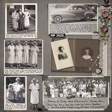Family history scrapbook pages old photos 34 Ideas Heritage Scrapbook Pages, Vintage Scrapbook, Scrapbook Paper Crafts, Scrapbook Cards, Scrapbooking Layouts, Digital Scrapbooking, Project Life, Family History Book, Old Photos