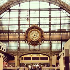 My favorite Museum!  A lot of Art Nouveau and impressionist art. Inside and old train station.