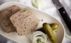 Kitchenette — Kachní terina Kitchenette, Meatloaf, Finger Foods, Butter, Cooking, Kitchen, Finger Food, Butter Cheese, Brewing