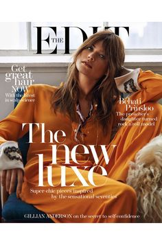 @NETAPORTER wow, @BeePrinsloo looks gorgeous on the new #TheEdit Magazine Cover! x