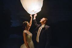 We are loving this shot of the bride and groom setting off their paper lantern from Sterling Imageworks! Click the image to learn more. Photo credit: Sterling Imageworks