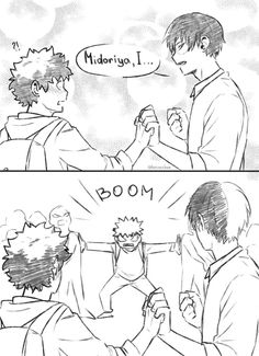 Read I could put anything as the title name and no one would notice. from the story Need Bakudeku pictures? I GOT U FAM! by SaynaTheNobody (Daddy Juan) with My Hero Academia Shouto, My Hero Academia Episodes, Hero Academia Characters, Cute Comics, Funny Comics, Lgbt Anime, I Got U, Villain Deku, Familia Anime