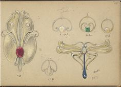 Six Designs for Jewelry