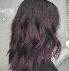 Dark Purple Hair, Bright Red Hair, Brown Ombre Hair, Violet Hair, Ombre Hair Color, Dark Hair, White Hair, Lilac Hair, Blue Hair