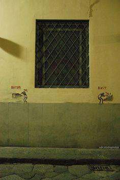Exit Enter, Via Ghibellina, Firenze (Toscana, Italy) - by Silvana, luglio 2014