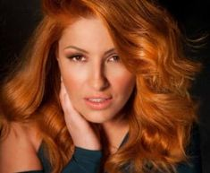 A website about current affairs, gossip, lifestyle, sports and many more from Cyprus, Greece and the rest of the World Helena Paparizou, Learn Greek, Greek Music, All About Music, Passionate People, Redheads, Hair Color, Singer, Celebrities
