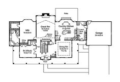 Samantha Country Home Plan 121D-0004   House Plans and More
