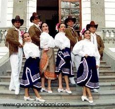 vestuario floklorico del Edo. de Nuevo Leon