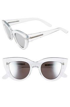 BCBG MAXAZRIA BCBGMAXAZRIA 49mm Cat Eye Sunglasses available at #Nordstrom