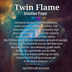 💙Twin flame intention prayer💜 Entering the new year, I thank The Universe for another year with unlimited possibilities. I ask Divine… Anniversary Quotes, Twin Flame Relationship, Relationship Quotes, Relationships, Abraham Hicks, Twin Flame Love Quotes, 1111 Twin Flames, Miss You, Twin Souls