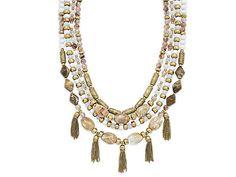 Premier Designs New Neutrals Necklace, NIB, Free Priority Shipping  #PremierDesigns