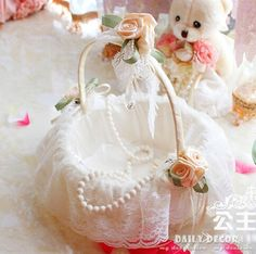 Cheap basket tote, Buy Quality basket wedding directly from China basket moses Suppliers:                    Bridal White Lace Decorated Flower Girl Wedding Basket , Wedding Shopping Basket Accessories   &