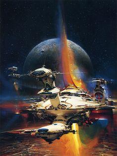 John Berkeys Spaceships