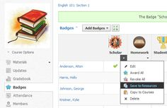 Did you know you can create and award Badges in Schoology? Learn how in this article from the Schoology Help Center: http://t.sch.gy/Mv83d. Do you use Schoology? Learn more: http://t.sch.gy/HEMsG