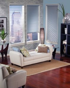"Mini Window Blinds NYC | Mini Blinds for Windows NYC | Mini Blinds NYC by Royal Window Treatments; (212) 473-1111; 180 Lexington Ave, 2nd Fl New York, New York 10016 Smaller slats 1"" - 1  1/2""  for tinier windows"